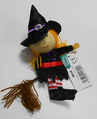 Finger Puppet Witch Toy Fiesta NEW