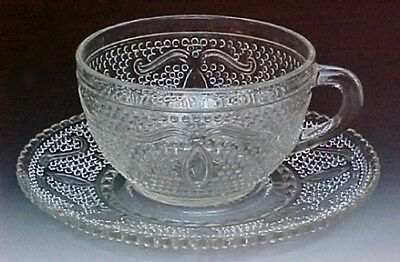 Federal Depression Glass HERITAGE Cup Saucer
