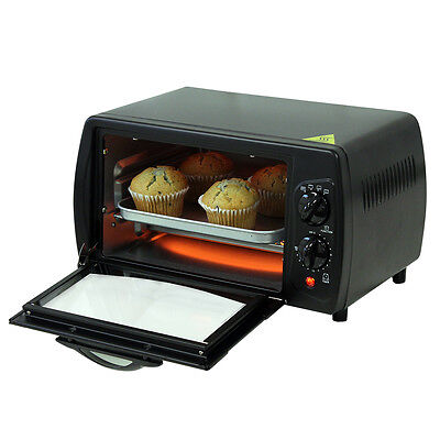 9L Small/mini Portable Electric Stainless Steel Countertop Oven Caravan Boat