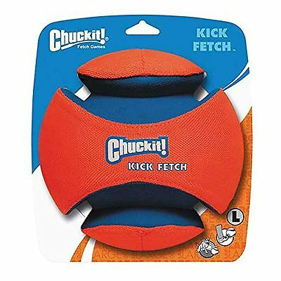 Chuckit Kick Large Fetch Ball Dog Toy Football Game Durable 20cm Exercise