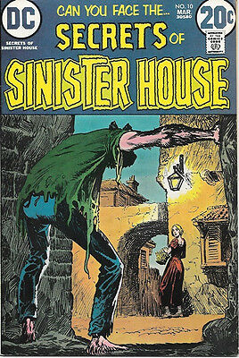 Secrets of Sinister House Comic Book #10, DC Comics 1973 FINE+