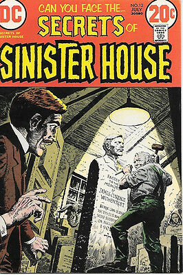 Secrets of Sinister House Comic Book #12, DC Comics 1973 FINE-