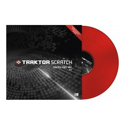 Native Instruments Traktor Scratch Timecode Vinyl MK2 red