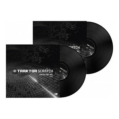 Native Instruments Traktor Scratch Timecode Vinyl black