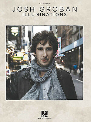 JOSH GROBAN AWAKE Easy Piano Sheet Music Vocal Melody 13 Pop