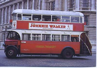 Preserved London Transport Type ST bus ST922 1972 AFTER THE BATTLE postcard