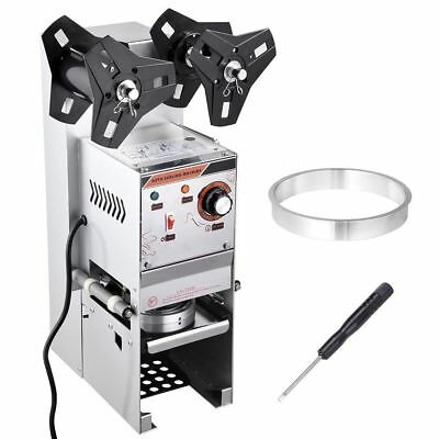 Commercial Bubble Tea Cafe Coffee Shop Plastic Cup Sealer Sealing Roller Machine