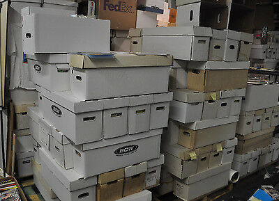 36 Box Pallet Lot Of Marvel/dc Only Comics (250-350 Comics Per Box) Modern