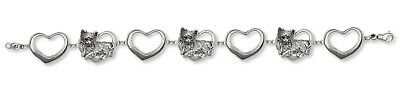 Long Hair Chihuahua Bracelet Jewelry Sterling Silver Chihuahua Jewelry CH58-BR