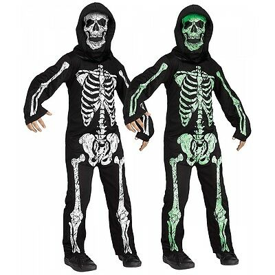 Skeleton Costume Kids Halloween Fancy Dress