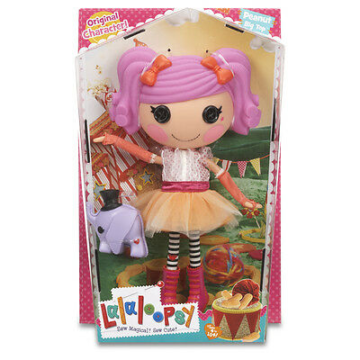 Lalaloopsy Large Doll Peanut Big Top With Elephant Pet NEW