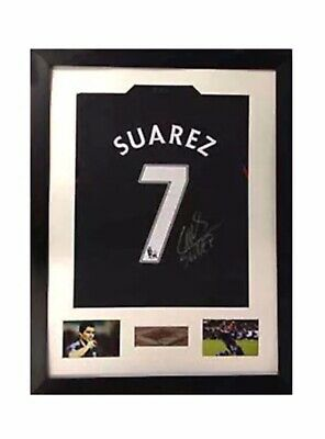 Frame For Any Signed Football Shirt Square with 2 photos Landscape