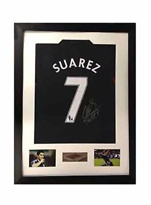 Frame For Any Signed Football Rugby Golf Dart Shirt T-Shirt Black and White SQ L