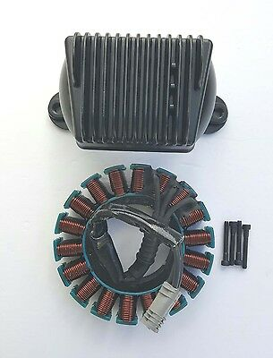 Harley Davidson 50Amp Voltage Regulator & Stator 09-15 Touring Models