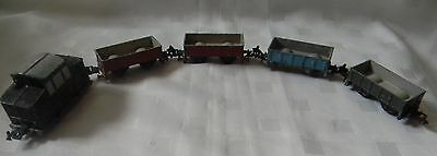 Löhmann (Made in US Zone, Germany) model wagons & locomotive