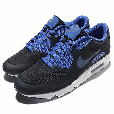 Nike Air Max 90 Ultra Essential Navy Blue Mens Running Shoes Sneakers 819474-405