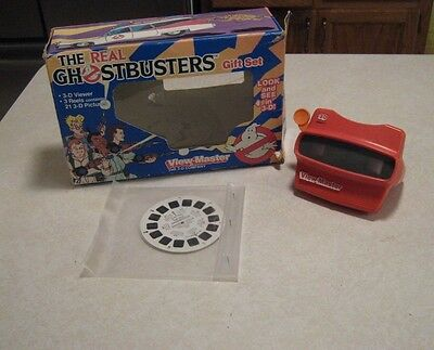 Vintage 1987 Real Ghostbusters View Masters Gift Set