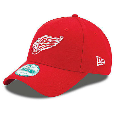 Detroit Red Wings NHL Adult 9FORTY New Era Adjustable Cap