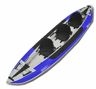 Sale was $799! Maxxon TH3-Legend Inflatable Kayak System for 1-3 w/Paddles, Pump