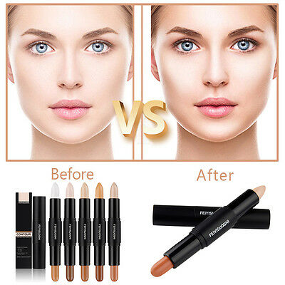 Technic Cream Contour Stix Sticks Kit Bronzer Highlighter Contouring Crayons