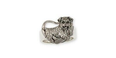 Norfolk Terrier Ring Jewelry Sterling Silver Norfolk Terrier Charms And Norfolk