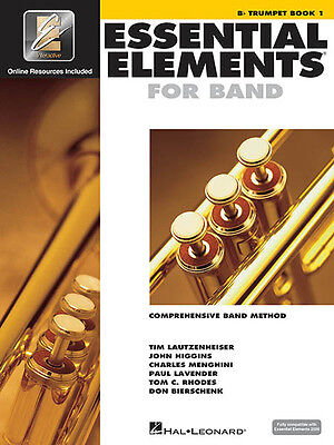 Essential Elements for Band Bb Trumpet Book 1 Beginner Lessons & Online Media