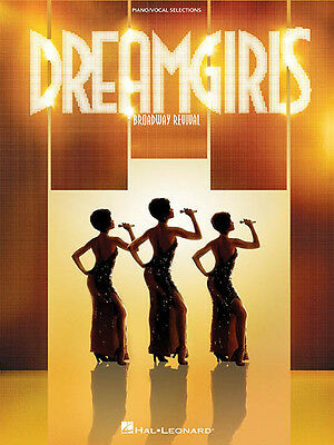 Dreamgirls Broadway Musical for Vocal Piano Sheet Music Lyrics 16 Songs Book NEW