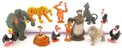 *JUNGLE BOOK Figure Play Set DISNEY PVC TOY Birthday Party Favors BALOO Mowgli!*