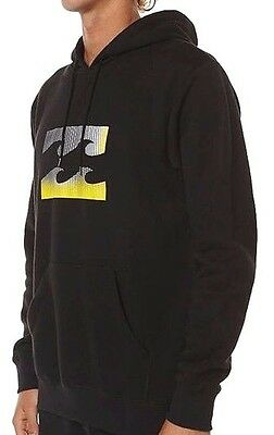 Men's Billabong Wave Icon Hoodie / Hoody Pullover - Size L. NWT, RRP $69.99.
