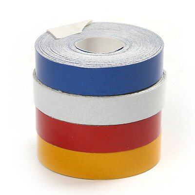 5M Car Reflective Tape Roll Safety For Auto Car Motorcycle 4Different Colors