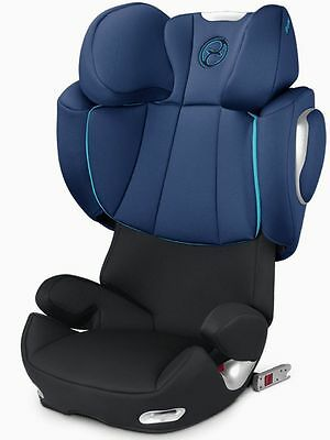 Cybex Solution Q2-Fix High Back Booster Child Safety Car Seat True Blue NEW