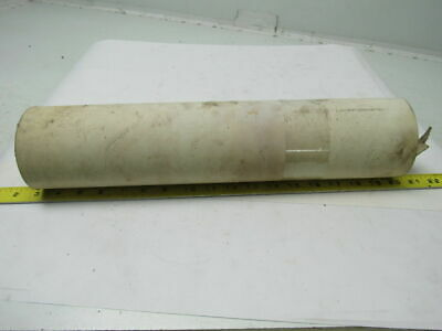 "2-Ply White Rubber Smooth Top Conveyor Belt 5' X 17"" X 0.070"""