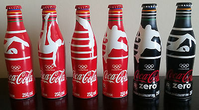 South African COCA COLA aluminium bottle 250ml RIO OLYMPICS | Limited Edition
