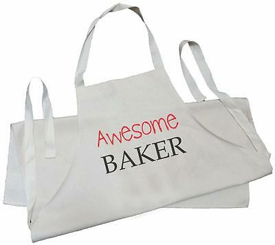 Awesome Baker -  NATURAL COTTON (CREAM) DRILL APRON