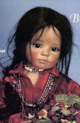Doll Art Works Navajo girl Porcelain Bisque Ready to Paint