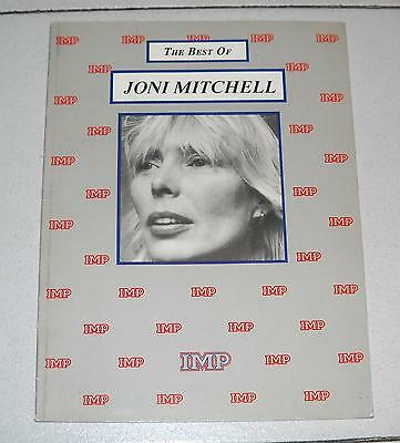 Spartiti The Best of JONI MITCHELL - OTTIMO Songbook Spartito sheet