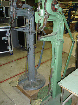 Stimpson #10 Foot Riveting Machine - CE100 or Split Rivets - PICKUP ONLY!
