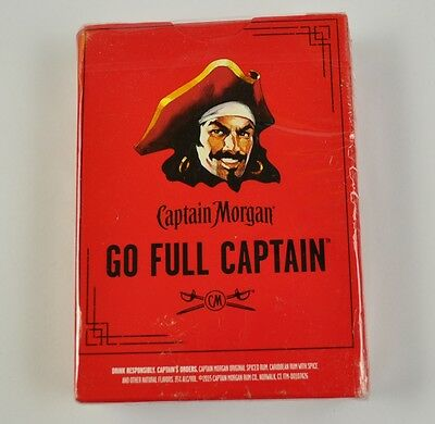 Captain Morgan Spielkarten Karten USA Playing Cards