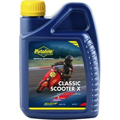 Putoline Classic Scooter X 2 Stroke Oil for Lambretta & Vespa Fully Synthetic