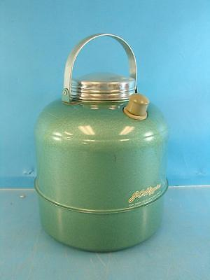 Vtg JC Higgins Sears Roebuck Thermos Picnic Fishing Camping Water Jug Metallic
