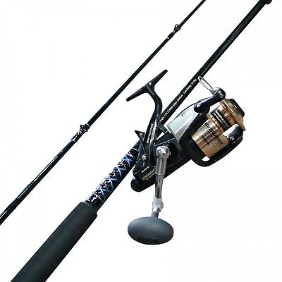 Shimano Baitrunner 12000 D & 10 Foot Ugly Stick Fishing Rod & Reel Combo