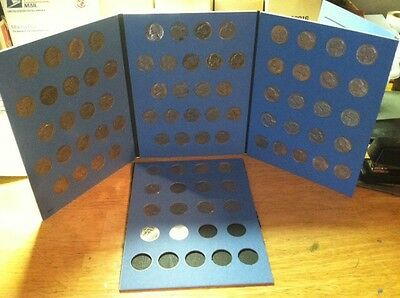 Jefferson Nickels 1938 - 2016; Year Date Set; incl.Silver, MORE!! In Coin Folder