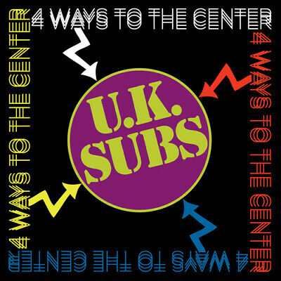 UK Subs - 4 Ways To The Center [New CD]