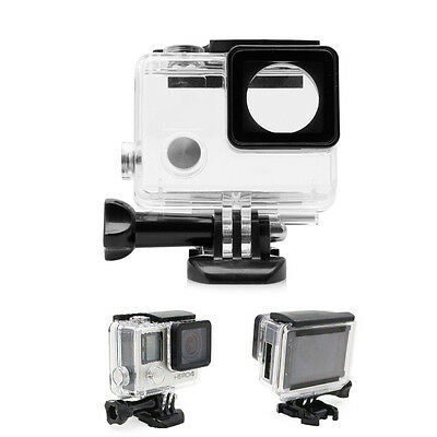 Side Open Skeleton Housing Protective Case Cover Mount for GoPro Hero 4/3+ new