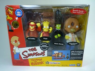 Simpsons Toysrus Exclusives Playset : Treehouse Of Horror 3 OVP