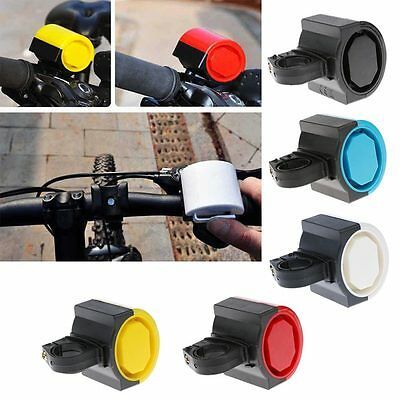 Electronic Alarm Electric Warning Bell Bicycle Horn Loud Handle Bike Cycling New
