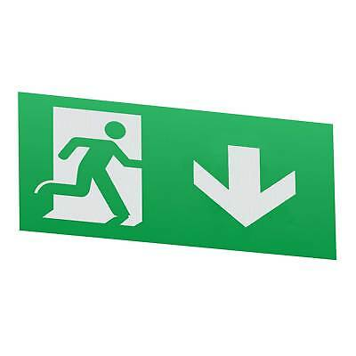 Knightsbridge Legend With Down Facing Arrow For EMSWING Emergency Exit Sign