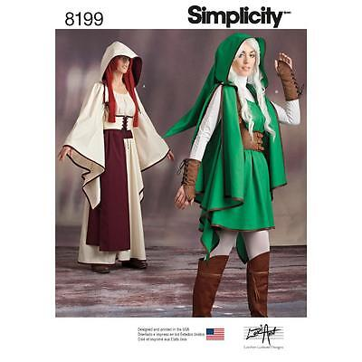 Simplicity Sewing Pattern Misses Video Games Characters Size 6-22 8199
