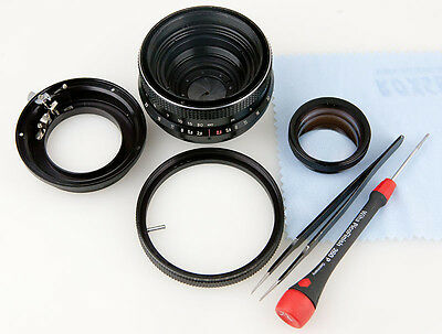 Objektiv Reparatur Carl Zeiss Jena MC Biometar 2,8/80 mm Blende