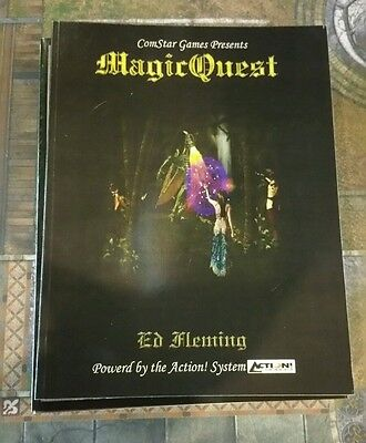 Magicquest - Fantasy Roleplaying Game Core Book Rpg Oop Roleplay Comstar